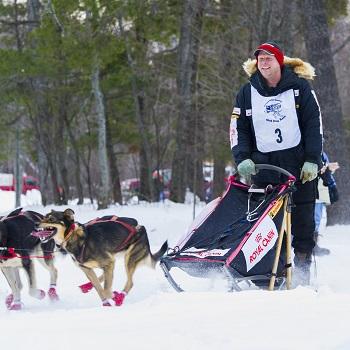 Tahquamenon Country Sled Dog race.