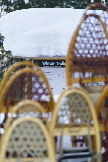 Snowshoe Taquamenon Trail