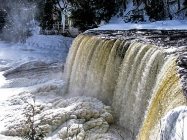 Tahquamenon Falls Winter